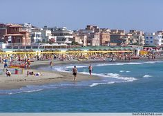 Ostia Beach in Rome, Italy - The Greater Rome area has lots of attractions. Ostia has some pretty stretches of sand. The water-side can get crowded during the summertime, when many Roman's descend an the area for a few days of vacation. However, things remain pleasant and laid back here throughout the year.