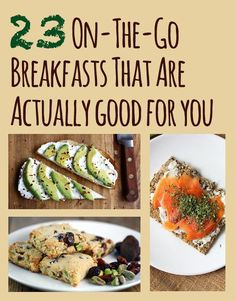 23 On-The-Go Breakfasts That Are Actually Good For You - BuzzFeed