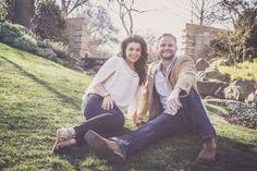 Dallas Arboretum Engagement Photo Shoot | DFW | Relaxed Engagement Pose | www.ProofPhotographyDFW.com