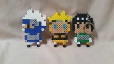 Check out this item in my Etsy shop https://www.etsy.com/listing/260113555/perler-beadnaruto-keychain