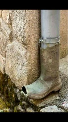 Welly downpipe!