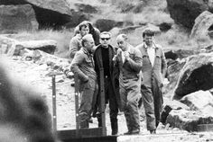 "Ian Brady ""assisting"" the police to look for one of his victims, in 1987"
