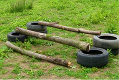 Image result for tyre horse jumps