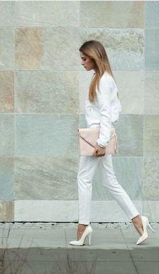 White on white. Perfection.