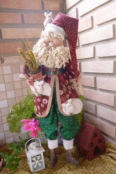 PAPAI NOEL - por Cris Lind by Cris Lind Ateliê, via Flickr