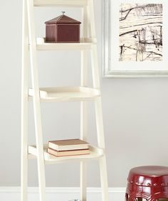 Look at this Distressed Ivory Gregory Étagère on #zulily today!