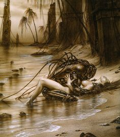 Luis Royo… are minds are one…