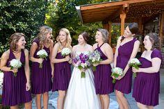 Wrap Dress, Purple Dress, Bridesmaid Dress, Infinity Dress, Plum Dress, Purple Bridesmaid Dress, Infinity Bridesmaid Dress, Infinity Wrap Dress
