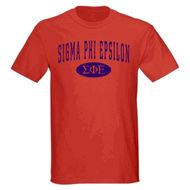 Sigma Phi Epsilon arch tee