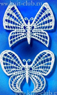 1/2 Butterfly Patterns