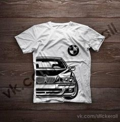 BMW E39 5 serie BMW5 100% Cotton T-shirt for Men