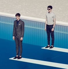 Victor Norlander and Charlie Timms for GQ UK Magazine