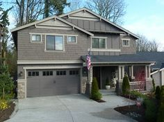 Seattle Traditional Exterior Design Ideas, Pictures, Remodel and Decor