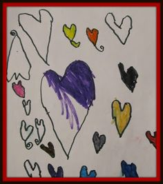 Teach your preschooler how to draw a heart in three simple steps!