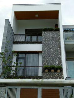 Mosaic đá tự nhiên | mosaic da tu nhien Three Story House, Classic House Design, Town House, Villa Design, Architecture Portfolio, My Dream Home, Entrance, Outdoor Decor, Home Decor