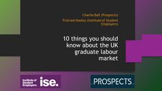 10 things you should know about the UK graduate labour market – Adventures in Career Development Making Predictions, Career Development, Career Advice, Graduation, Presentation, Student, Marketing, Career Counseling, Moving On