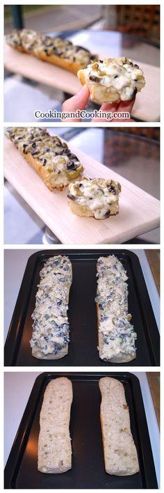 Olive Cheese Bread Recipe