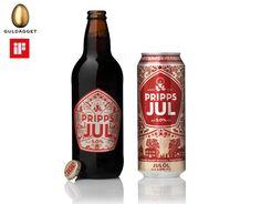 Pripps Julöl Beer Club OZ presents – the Beer Cellar Beverage Packaging, Bottle Packaging, Christmas Ale, Beer Cellar, Beer Club, Beer Label Design, Beer Brands, Wine And Beer, Bottle Design