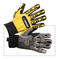 Impacto WGRIGG Dryrigger Oil and Water Resistant Work Gloves