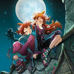 FairyOak - …Vainilla y Pervinca seguían comportándose como niñas sinmagia: se levantaban tarde, sobre todo Pervinca, eran muy maniáticas para vestirse y siempre les daban un beso a todos antes de salir.