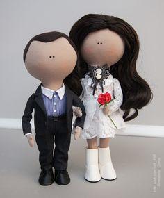 Куклы портретные, сшиты по фото на заказ.  Автор: Бочкарева Ольга