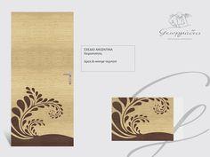 #handmade wooden door_code:Argentina / by Georgiadis furnitures