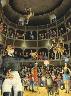 """alfiusdebux: """"Carlo Collodi, Le avventure di Pinocchio (illustration by Roberto Innocenti) """""""