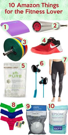 Workout Wednesday: A week of workouts and 10 Amazon Gifts for the Fitness Junkie