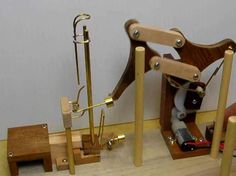 Test for the TJ Link lifter Marble Run Sculpture, Rolling Ball Sculpture, Civil Engineering Design, Marble Machine, Wood Toys Plans, Stem For Kids, Mechanical Design, Automata, Marble Runs