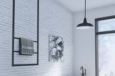 Image result for towel racks hanging from ceiling
