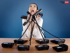 ¿Mitad de semana y estás estresado por tantas llamadas? Tenemos la solución. #Spotonhold #freestress