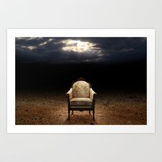 Throne without king Art Print by Jordygraph - $15.60