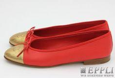 CHANEL elegant ballerinas, size 38 original price € 500,- starting price € 1,-