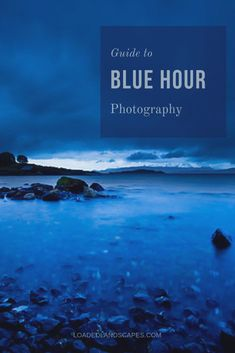 Before sunrise and after sunset are amazing times for landscape photography. Learn how to make the most of blue hour with this guide. Nature Photography Tips, Sunrise Photography, Photography Basics, Photography Lessons, Outdoor Photography, Landscape Photography, Travel Photography, Digital Photography, Multiple Exposure