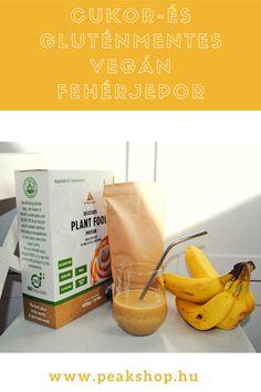Végre egy tényleg FINOM, 100% természetes növényi fehérjeport hoztunk Neked, amivel egyszerűen beviheted a szükséges fehérjét - legyél akár vegán, vagy laktóz, tejfehérje, tojás, gluténérzékeny! A Peak Delicious Plant Food fehérjepora teljesen allergén mentes! Protein, Vegan, Plants, Food, Essen, Meals, Plant, Vegans, Yemek