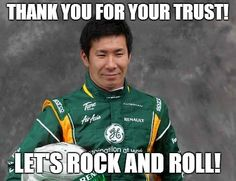 "The Long wait is Over, Kobayashi - Caterham is now Official "" A returning Kamui Kobayashi looks set to join rookie Marcus Ericsson, marking a second consecutive all-new driver lineup for Caterham in. Kamui Kobayashi, Marcus Ericsson, New Drivers, Rock And Roll, Racing, Japan, Okinawa Japan, Rock Roll, Auto Racing"
