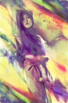 "hijabonita: "" Hana Tajima by ffd I love this. """