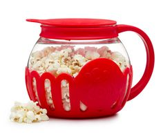 A popper for when you can't choose between microwave popcorn and stovetop popcorn.
