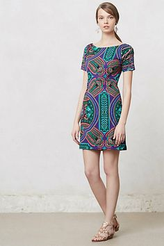 Baga Shift Dress #anthropologie