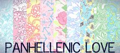 Panhellenic Love! Love ALL of our sisters <3
