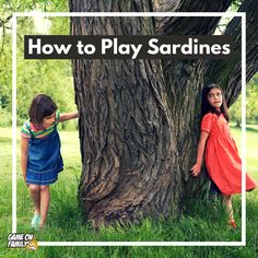 How to Play Sardines Fish Games For Kids, Camping Games Kids, Games To Play With Kids, Outdoor Games To Play, Games To Play Outside, Outdoor Activities, Activity Games, Fun Games, Art Camp