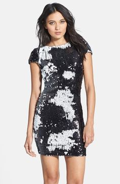 Dress the Population 'Tabitha' Sequin Body-Con Dress available at #Nordstrom