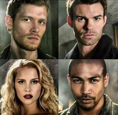 The Originals -  Klaus, Elijah, Rebekah &  Marcel...why is this whole cast so attractive(drools all over self)