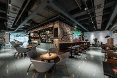 NAO | TRIBE Wangfujing Cafe Design, Organic Restaurant, Bar Design, Interior Design Restaurant Design Organic Restaurant, Restaurant Bar, Restaurant Interior Design, Cafe Design, Table, Furniture, Home Decor, Cafeteria Design, Decoration Home
