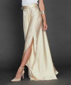 giovanni gold side slit skirt - Google Search
