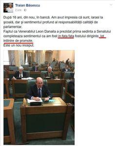 Traian Băsescu, lovit de sentimentalism pe Facebook. Unde a greșit fostul președinte