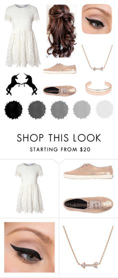 """Untitled #63"" by unicornkitty15 ❤ liked on Polyvore featuring Glamorous, Keds, LORAC and Leith"