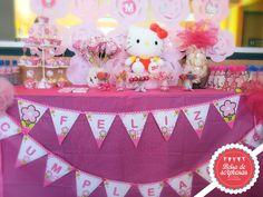 Kit personalizado para tu fiesta Hello Kitty, Birthday Cake, Home Decor, Fiestas, Homemade Home Decor, Birthday Cakes, Decoration Home, Cake Birthday, Interior Decorating