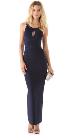 Keyhole Gown by ShopBop