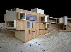 "407 Likes, 5 Comments - ARCFLY  (Festim Toshi) (@arcfly_ft) on Instagram: ""#ArchitecturalModel (#Maqueta) - Casa SaMa Fachada Norte, North facade by @paulcremouxstudio…"""